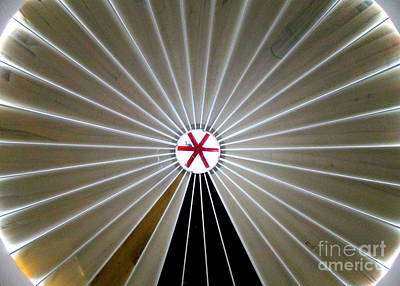 Photograph - La Crucita Mall Dome by Randall Weidner