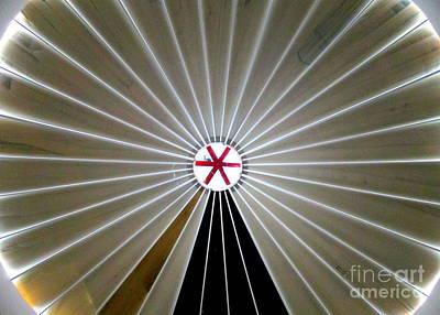 Photograph - La Crucita Mall Dome by Randall Weidner