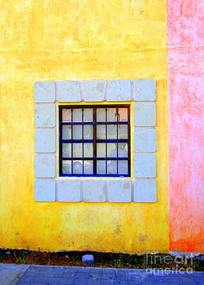 Photograph - La Crucita Window by Randall Weidner