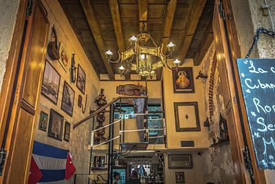 Photograph - La Cubana Restaurant by Bill Howard