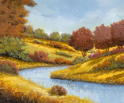 Royalty-Free and Rights-Managed Images - La Curva Del Fiume by Guido Borelli