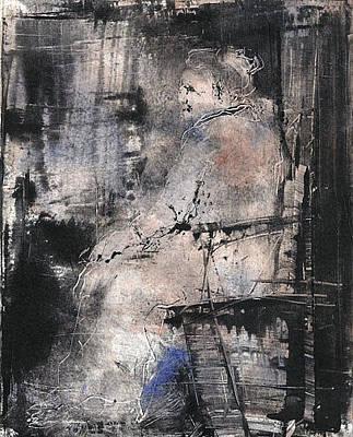 Drawing - La Dame En Rose by Rochelle Mayer