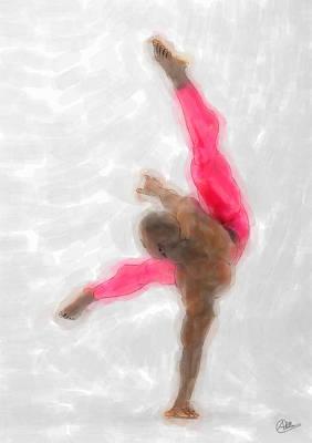 Ballet Dancers Painting - La Danza De Orfeo by Quim Abella