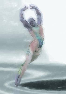 Ballet Dancers Painting - La Danza Fantasma by Quim Abella
