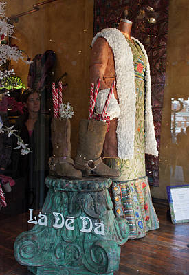 Photograph - La De Da Gingerbread Dress And Boots by Suzanne Gaff