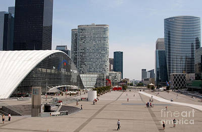 La Defense Art Print by Andy Smy