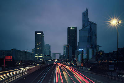 Photograph - La Defense by James Billings