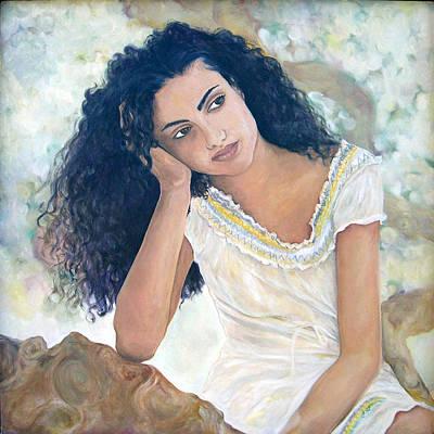 Painting - La Diosa De Hoy by Julie Davis