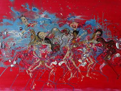 Mora Painting - La Diversidad De Las Almas by David Alvarado
