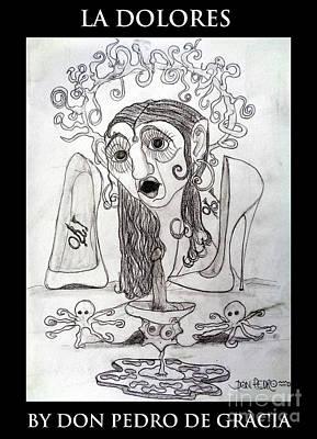 La Dolores Art Print