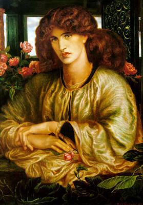 Painting - La Donna Della Finestra by Dante Gabriel Rossetti