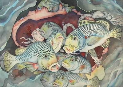 Bekman Wall Art - Painting - La Douce Mer by Liduine Bekman