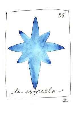 Painting - La Estrella by Anna Elkins