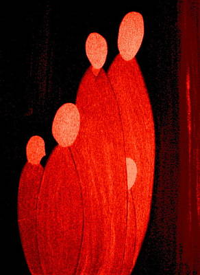 Painting - La Familia by Bill OConnor