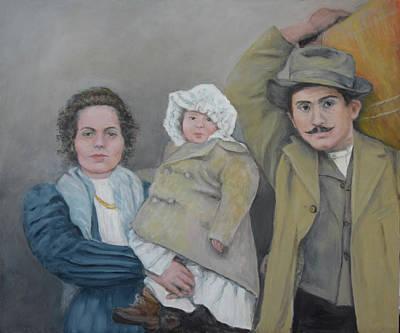 Painting - La Familia by Sandra Nardone