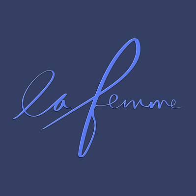 Drawing - La Femme by Bill Owen