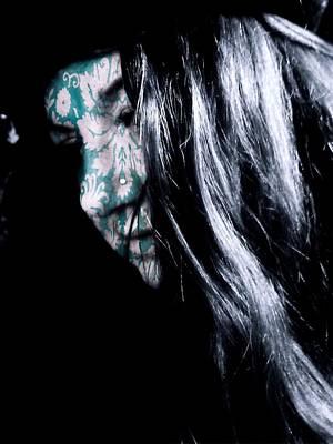 Photograph - La Femme Peinte by Susan Maxwell Schmidt