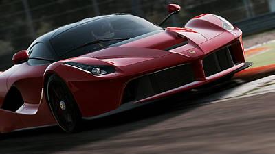 Photograph - La Ferrari, Monza - 03  by Andrea Mazzocchetti