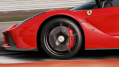 Photograph - La Ferrari, Monza - 05 by Andrea Mazzocchetti