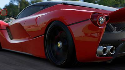 Photograph - La Ferrari, Monza - 14 by Andrea Mazzocchetti