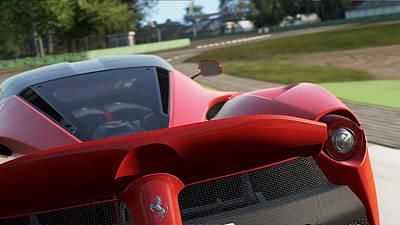 Photograph - La Ferrari, Monza - 18 by Andrea Mazzocchetti