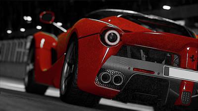 Photograph - La Ferrari Supercar - 2  by Andrea Mazzocchetti