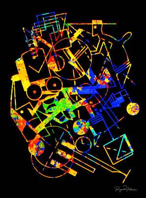 Digital Art - La Fiesta by Reynaldo Williams