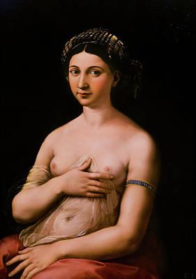 Photograph - La Fornarina - Raphael by Weston Westmoreland