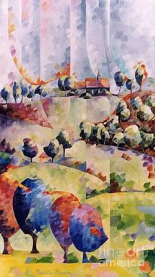 La France Paysanne Art Print by Beatrice BEDEUR