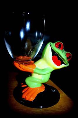 Photograph - La' Frog  by Debra Forand