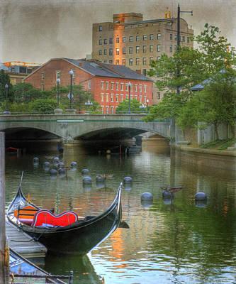 Rhode Island Photograph - La Gondola. Providence by Juli Scalzi