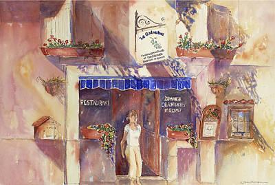 Painting - La Goublet by Tara Moorman