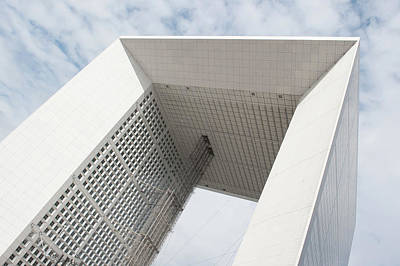 Photograph - La Grande Arche Paris II by Helen Northcott