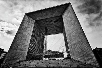 Photograph - La Grande Arche by Stefan Nielsen