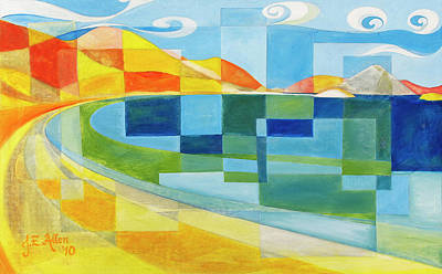 Sea Of Cortez Painting - La Gringa by Joseph Edward Allen