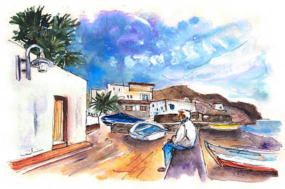 Painting - La Isleta Del Moro 02 by Miki De Goodaboom