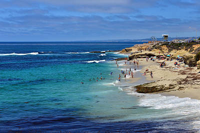 Photograph - La Jolla Beach by Mark Whitt