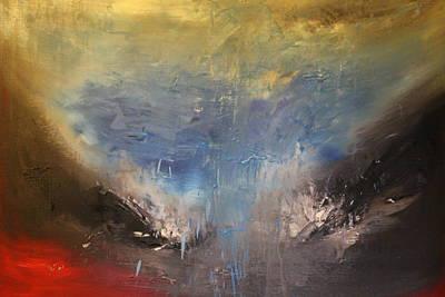La Jolla Art Painting - La Jolla by Carmem Gusmao