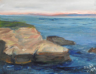 Painting - La Jolla Cove 001 by Jeremy McKay