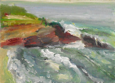 Painting - La Jolla Cove 005 by Jeremy McKay