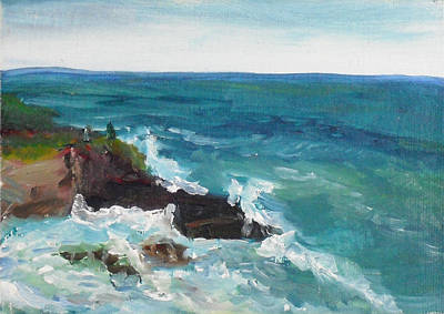 Painting - La Jolla Cove 006 by Jeremy McKay