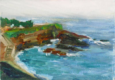 Painting - La Jolla Cove 012 by Jeremy McKay