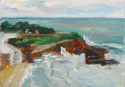 Painting - La Jolla Cove 013 by Jeremy McKay