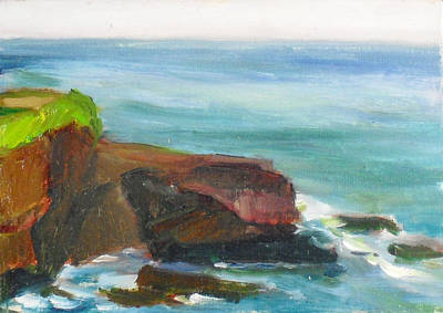 Painting - La Jolla Cove 014 by Jeremy McKay