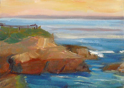 Painting - La Jolla Cove 018 by Jeremy McKay