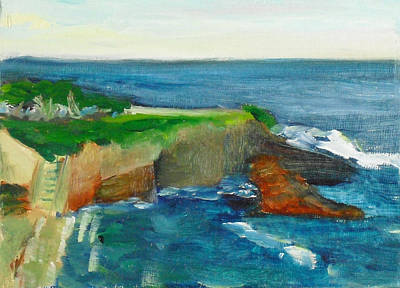 La Jolla Cove 021 Art Print by Jeremy McKay