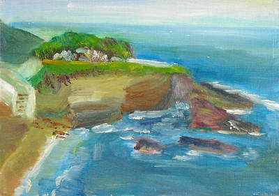 Painting - La Jolla Cove 025 by Jeremy McKay