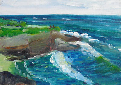 Painting - La Jolla Cove 031 by Jeremy McKay