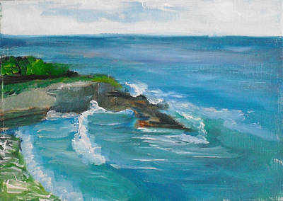 Painting - La Jolla Cove 033 by Jeremy McKay