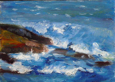Painting - La Jolla Cove 035 by Jeremy McKay